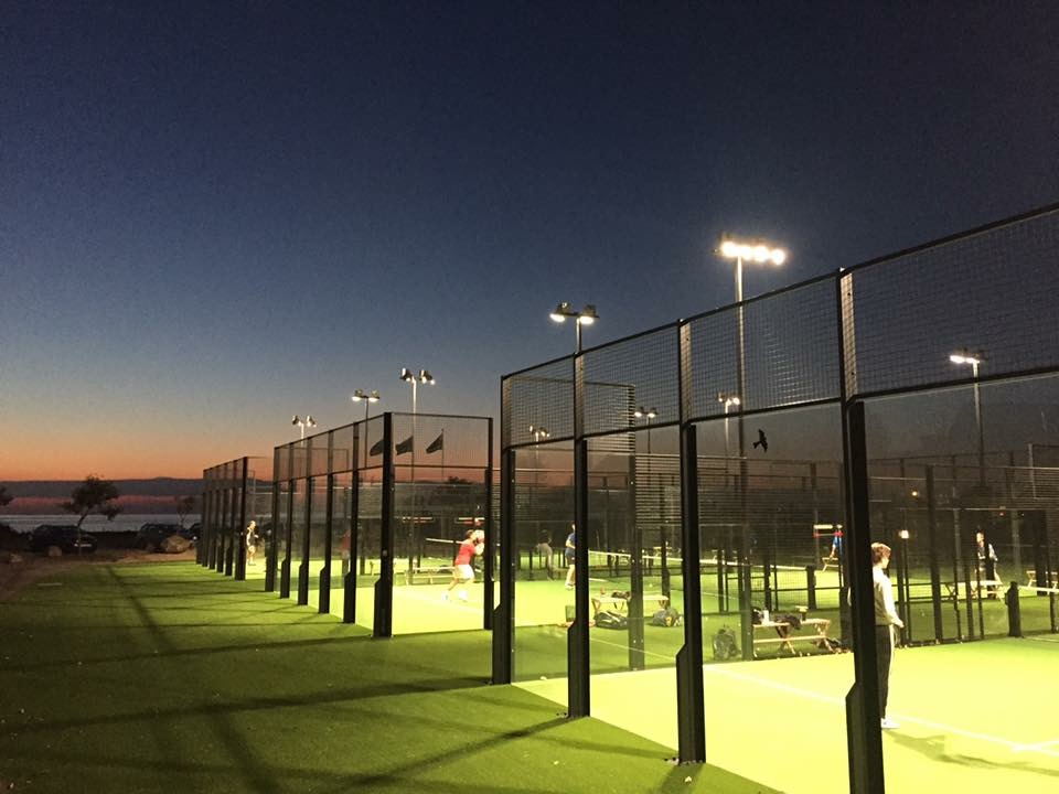 Vilshrads padel by night